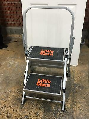 Little Giant 2 Tread Safety Step Ladder