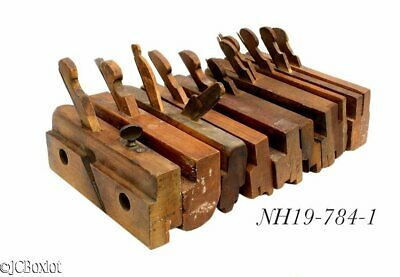 large lot wood wooden MOLDING PLANE TOOLS T&G's others woodworking