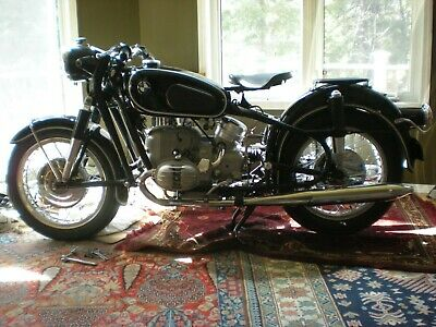 1967 BMW R-Series  1967 BMW R60/2 beautiful restoration no carbs selling whole or in parts