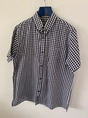 Boys Summer Smart The Original Ben Sherman Age 7-8 Yrs Check Shirt Short Sleeved