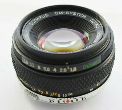 Olympus OM System Auto-S Zuiko MC f/1.8 50mm Camera Lens *See Description*   #W7