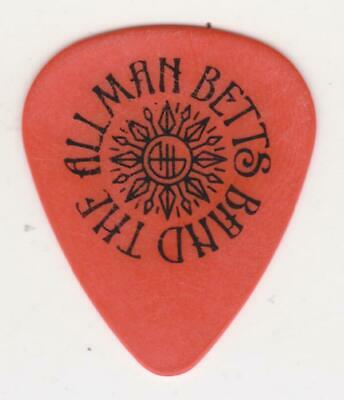RaRe The ALLMAN BETTS BAND GUITAR PICK DEVON DA BROTHERS BLUES & CONCERT TICKET