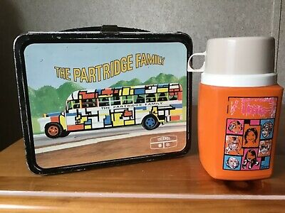 Vintage The Partridge Family Lunchbox And Thermos