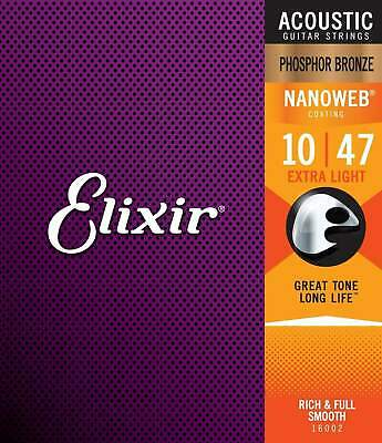 Elixir Phosphor Acoustic Strings