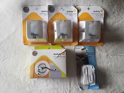 Lot of Safety 1st Child Safety Baby Proofing Doors, Drawers, Cabinets and Plugs
