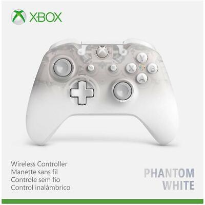 Genuine Microsoft Xbox One Wireless Controller Phantom White Special Edition GS4