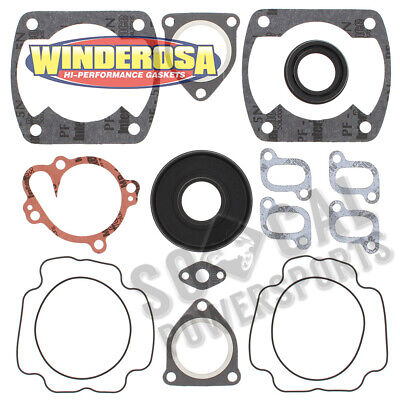 1976 Yamaha SRX Snowmobile Winderosa Complete Gasket Kit with Oil Seals