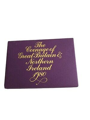1980 UK Royal Mint Uncirculated Coin Collection Presentation Pack Sealed.