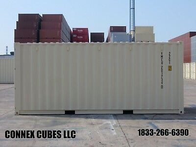 One trip (New) 20' Shipping Container in Charleston, South Carolina