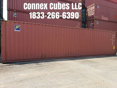 Used 40' High Cube Shipping Container Tallahassee, Florida