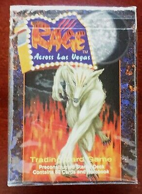 Across Las Vegas Phase 3 Booster Packs *NEW* Five Rings- Rage CCG x2
