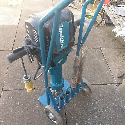 Makita Breaker 30kg class HM1812TR with trolley & chisels 2017