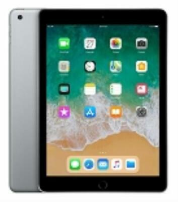 Apple iPad 6th Gen. 32GB, Wi-Fi + Cellular 9.7in MR6R2LL/A