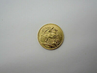 1911 GOLD COIN Full Sovereign Coin George V Great Britain Nice Collectible Coin