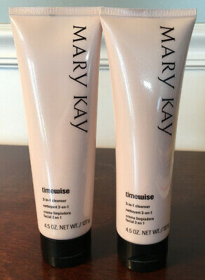 Lot Of 2 Mary Kay 4.5 Oz. 3-In-1 Combination To Oily Skin Cleanser