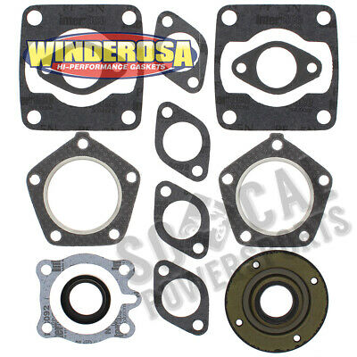 1972-1973 Polaris TX Snowmobile Winderosa Complete Gasket Kit with Oil Seals