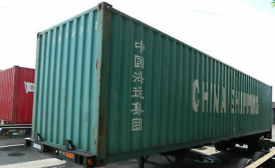 40 High Cube Steel Cargo Shipping Storage Container El Paso TX Containers