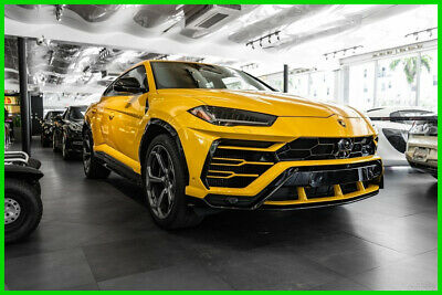 2019 Lamborghini Urus  Yellow over Blk hides immaculate loaded w options $250K MSRP PRICED 4QUICK SALE