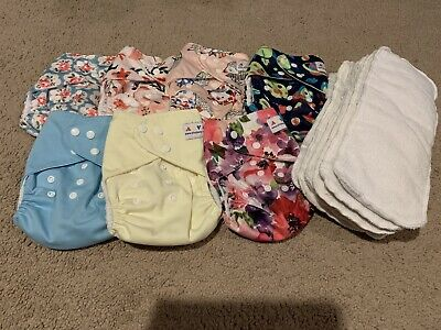 Lot Of Pocket Cloth Diaper One Size