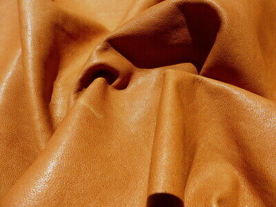 SALE Blue Craft Leather Hide Genuine Lambskin Material DIY Upholstery Fabric 541