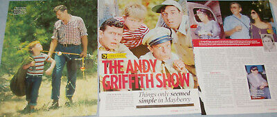 ANDY GRIFFITH 20x Clippings (1987-recent) + Trading Card (1991)