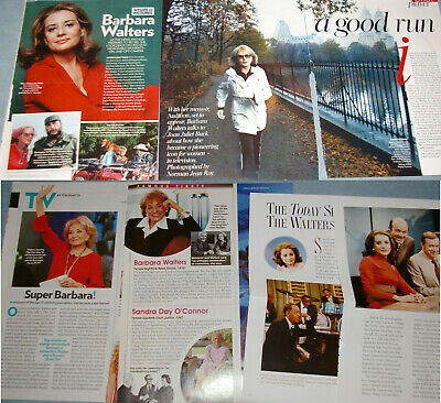 BARBARA WALTERS 100x Clippings 1972-to-recent