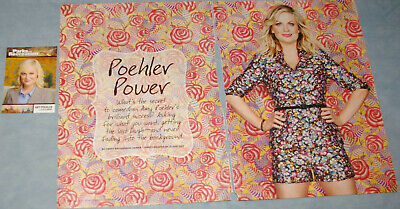 AMY POEHLER 102x Clippings Cover+ Card Parks and Recreation