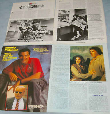 MANDY PATINKIN 38x Clippings 1987-to-recent