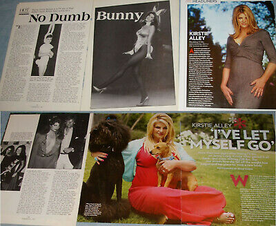 KIRSTIE ALLEY 66x Clippings 1985-to-recent