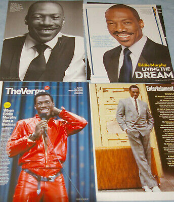 EDDIE MURPHY 110x Clippings + Poster 1980s-SNL-now