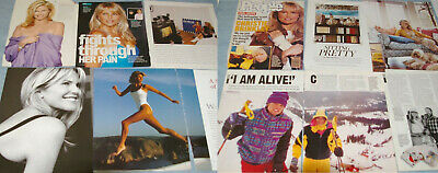 CHRISTIE BRINKLEY 118x Clippings Covers 1983-recent