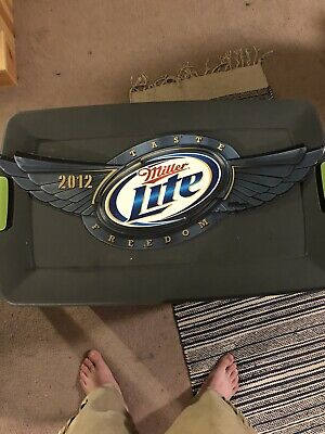 Miller Lite Taste Freedom 2012 Tim Sign