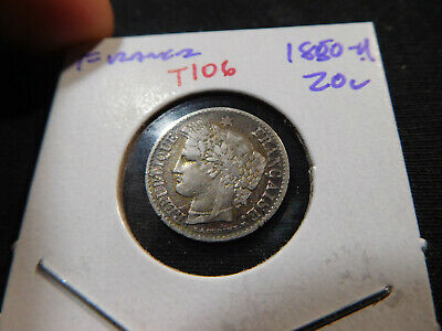 T106 France 1850-A 20 Centimes