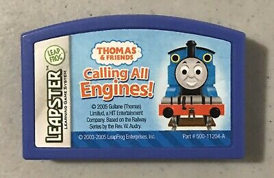 Leapfrog Leapster Game Thomas Friends The Train Calling All Engines!