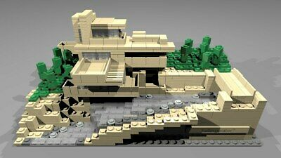 LEGO 21005 Architecture Fallingwater House  [D1]