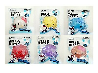 SQUISHME HELLO KITTY CHOCOLATE CUPCAKE SQUISHY TURQUOISE WRAPPER #5 NEW SEALED