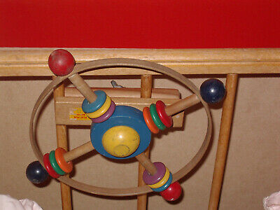 Item #700  Childhood Int. Vintage A Right Time Playpen Whirl  N.O.S.! Boxed!
