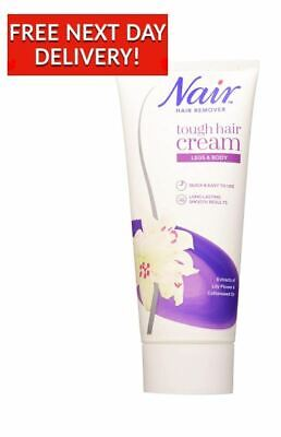 Nair Tough Hair Removal Cream For Coarse Dark Hair With Lily Flower 200ml 8 40 Picclick Uk