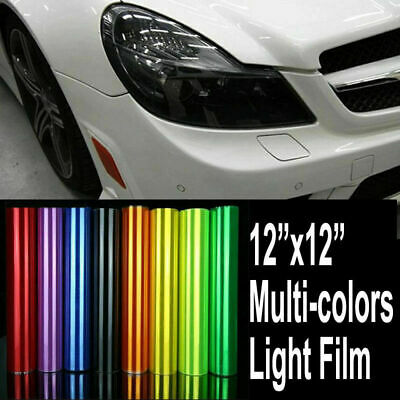 12X12 More Colour Headlight Fog Light Taillight Tint Vinyl Film Sheet Sticker