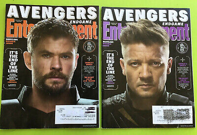 Entertainment Weekly April 2019 - Avengers End Game -  Thor  Hawkeye #M100