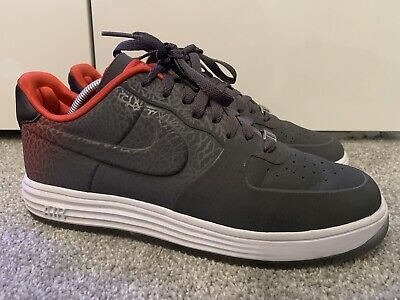NIKE AIR FORCE 1 Lux Uk 10 Black Trainers Limited Edition