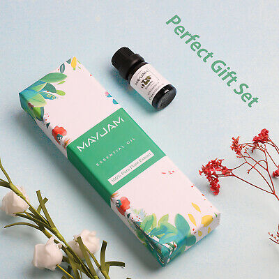 Aromatherapy Top Essential Oils 100% Pure & Therapeutic Grade 10ml Set of 6 Oils
