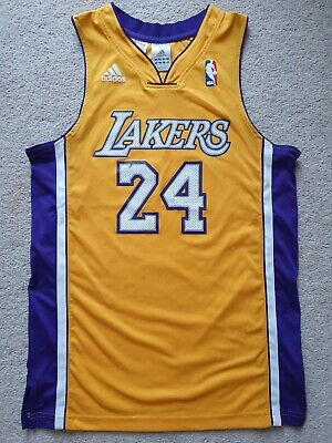 ADIDAS LA LAKERS Kobe Bryant 24 NBA Basketball Jersey EUR