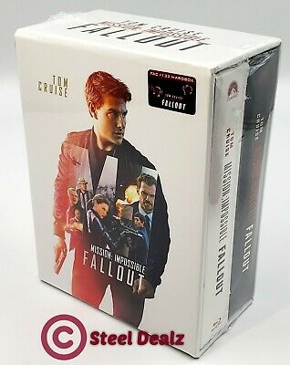 MISSION IMPOSSIBLE FALLOUT [4K UHD + 2D] Blu-ray STEELBOOK SET [FILMARENA]