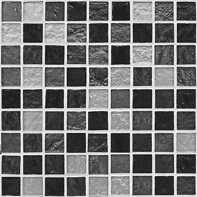 Grey Mosaic Tile Stickers 150mm Transfer Decal Kitchen Bathroom MS2-4
