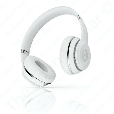 Beats By Dr Dre Solo3 Wireless Bluetooth Headphones Satin Silver Used Excellent 109 99 Picclick