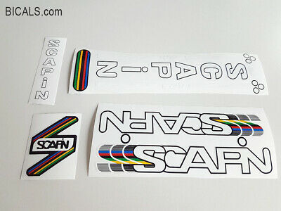 SCAPIN CLASSIC 1980s FRAME DECAL SET  GOLD