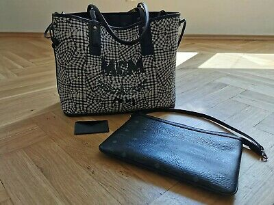 MCM SHOPPER LIZ Medium Schwarz EUR 500,00 | PicClick DE