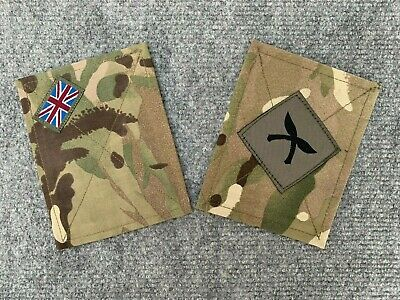 DESERT RATS TRF PATCH PANEL,SMOCK,UBACS BRITISH ARMY SURPLUS 7th ARMOURED DIV