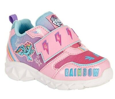 NWT $35 GYMBOREE Toddler Girls Hi-Top Sneaker Blue//Pink//Rainbow SELECT SIZE